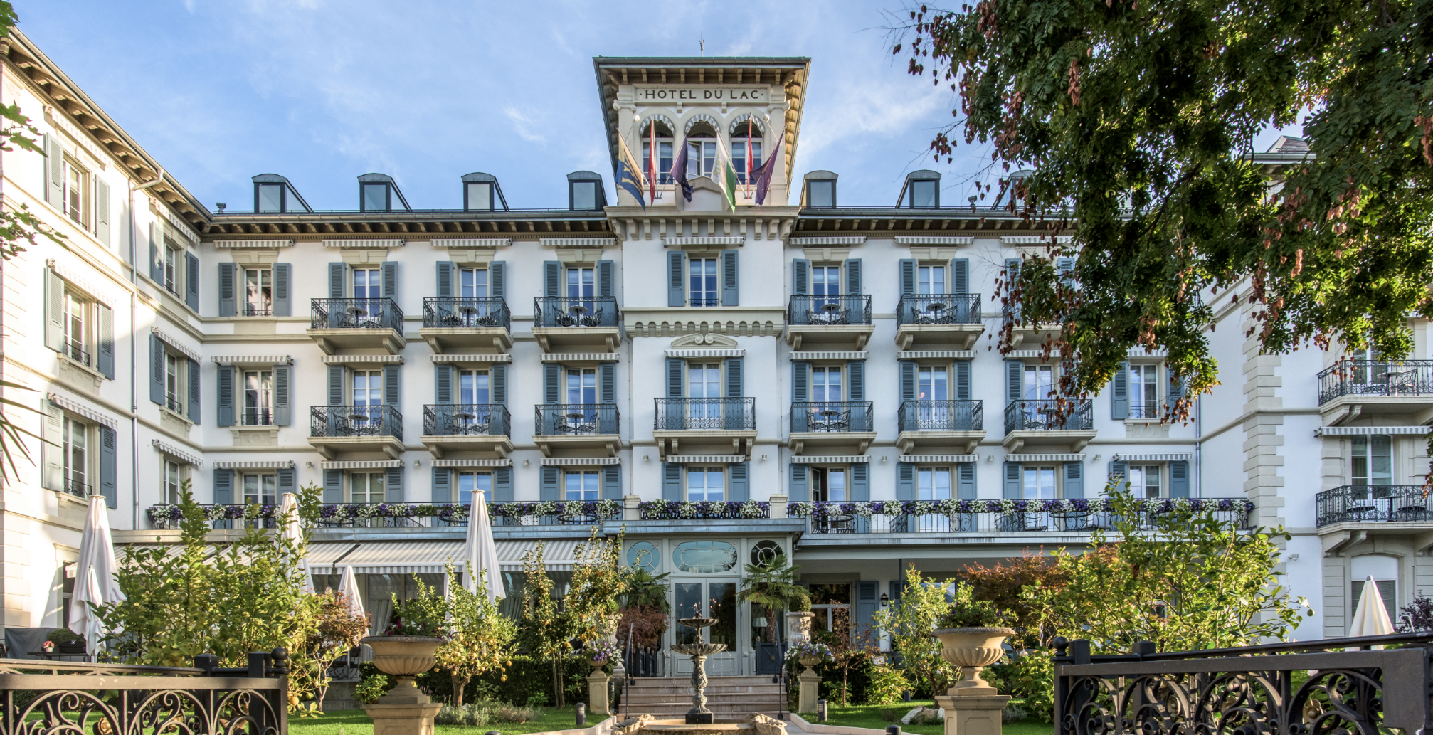 Atelier and lunch meal at the Grand Hôtel du Lac!